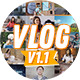 Vlog, Youtuber Intro and Outro - VideoHive Item for Sale