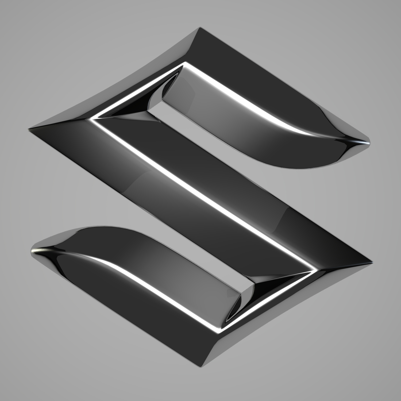 Suzuki Logo By Reticulum 3docean