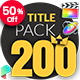 TypoKing - Animated Titles for Final Cut Pro X - VideoHive Item for Sale