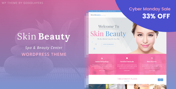 Skin Beauty - Beauty | Spa | Salon WordPress Theme