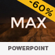 MAX Fresh Looking PowerPoint Template - GraphicRiver Item for Sale