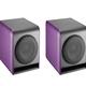 Purple speaker isolated on white background - PhotoDune Item for Sale