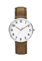 leather expensive and modern watch isolated - PhotoDune Item for Sale