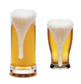 glasses of beer on a white background - PhotoDune Item for Sale