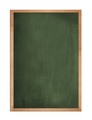 Blank old blackboard isolated on white background - PhotoDune Item for Sale