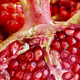 Pomegranate fruit seeds macro detail. Healthy food. Vertical - PhotoDune Item for Sale