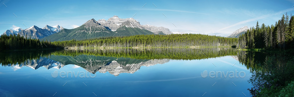 Herbert lake - Stock Photo - Images