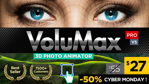 VoluMax - 3D Photo Animator V5.2 - Project for After Effects (Videohive)