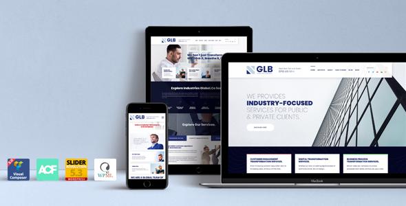 Glb - Responsive Multi-purpose WordPress Theme - Business Corporate