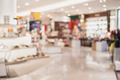 Abstract blurred background of interior clothing store at Shopping Mall - PhotoDune Item for Sale