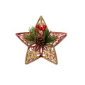 Christmas star ornaments and decorations isolated on white background - PhotoDune Item for Sale