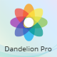 Free Download Dandelion Pro - React Admin Dashboard Template Nulled