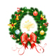 Christmas Wreath with Toys - GraphicRiver Item for Sale