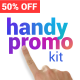 Handy Promo Kit   Touch Stomp Typography & Slideshow Toolkit - VideoHive Item for Sale