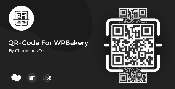 QR Code For WPBakery Page Builder (Visual Composer) - CodeCanyon Item for Sale