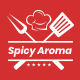 Spicy Aroma One Page HTML - ThemeForest Item for Sale