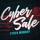 Cyber Sale Promotion / Cyber Monday - VideoHive Item for Sale