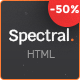 Spectral - Business & Agency One Page HTML5 Template - ThemeForest Item for Sale