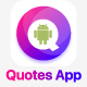 Quotes Android App with Admin Panel - CodeCanyon Item for Sale