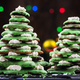 Free Download Gingerbread Christmas tree, festive food decoration Nulled