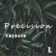 Precision Creative Keynote - GraphicRiver Item for Sale
