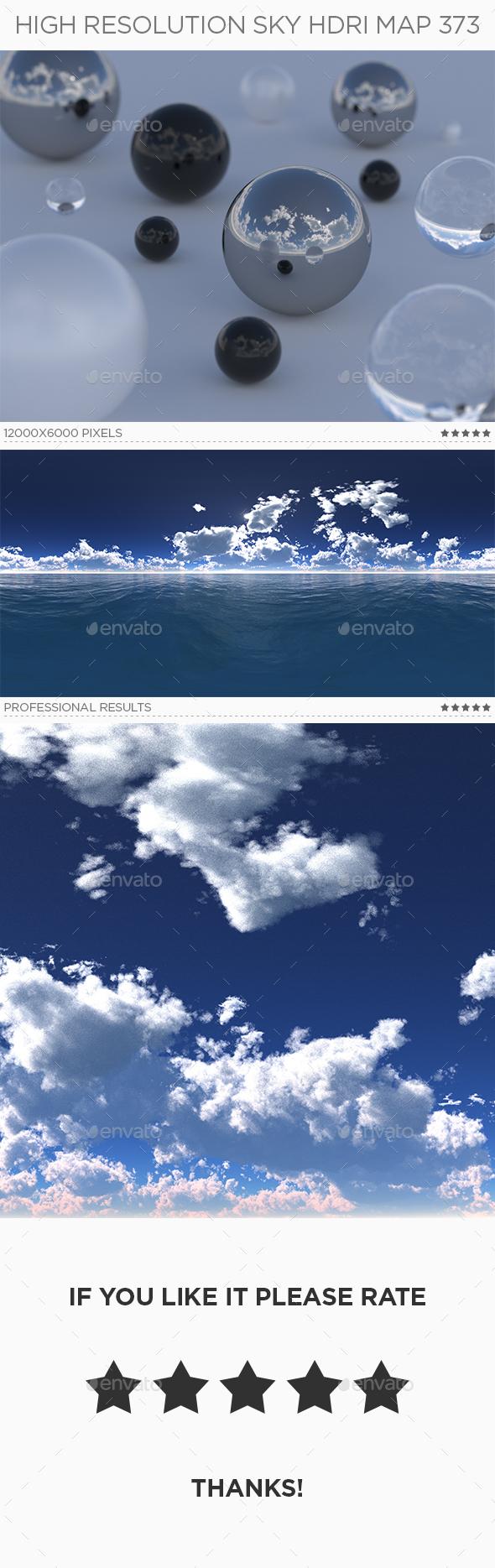 High Resolution Sky HDRi Map 373 - 3DOcean Item for Sale