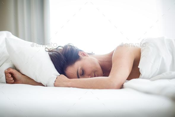 Woman sleeping - Stock Photo - Images