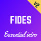 Fides - Essential Intro | Black Friday  | Cyber Monday | Christmas | Campaign Landing Page Template - ThemeForest Item for Sale