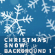 Christmas Snow Background 1 - VideoHive Item for Sale