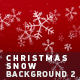 Christmas Snow Background 2 - VideoHive Item for Sale