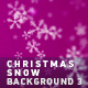 Christmas Snow Background 3 - VideoHive Item for Sale