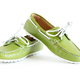 Modern Style Green Moccasin - PhotoDune Item for Sale