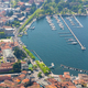 Aerial View at the Como Harbor, Como Lake, Italy - PhotoDune Item for Sale