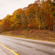 Rural Landscape Country Road Highway Fall Autumn Season Leaves  - PhotoDune Item for Sale