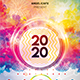 New Year Music Festival 2020 Photoshop Flyer Template - GraphicRiver Item for Sale