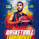 Basketball Tournament Flyer - GraphicRiver Item for Sale