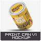 Paint Can Mock-Up v.1 - GraphicRiver Item for Sale