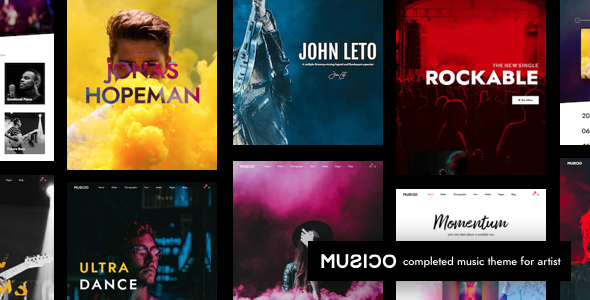 Musico | Music Band WordPress