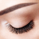 Female eye with long false eyelashes - PhotoDune Item for Sale