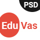 EduVas- Education PSD Template - ThemeForest Item for Sale