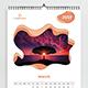 Creative Calendar 2019 - GraphicRiver Item for Sale