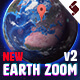 Earth Zoom Single Kit - VideoHive Item for Sale