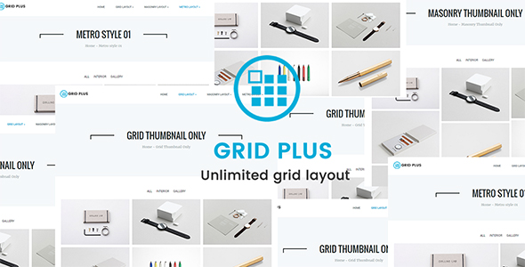 Grid Plus - Unlimited Grid Layout - CodeCanyon Item for Sale