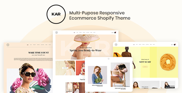 Karic - Multiple and Purpose Creative Shopify Theme - Fashion Shopify