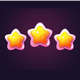 3 Stars Level Completed