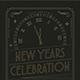 Gold New Year Party Flyer - GraphicRiver Item for Sale