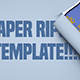 Paper Rip Titles Mogrt - VideoHive Item for Sale