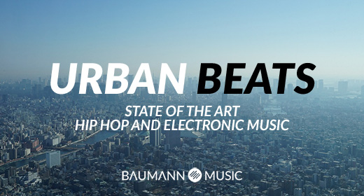 Urban Beats - Hip Hop and Electronic Background Music