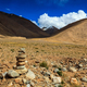 Free Download Stone cairn in Himalayas Nulled