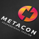 Metacon M Letter Logo - GraphicRiver Item for Sale